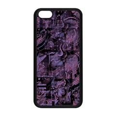 Purple town Apple iPhone 5C Seamless Case (Black)