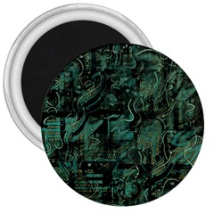 Green town 3  Magnets