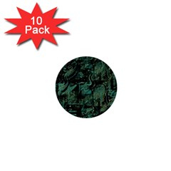 Green town 1  Mini Buttons (10 pack)