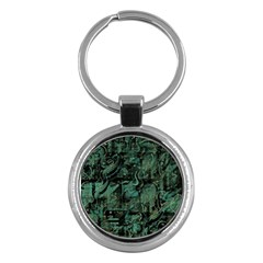 Green town Key Chains (Round)