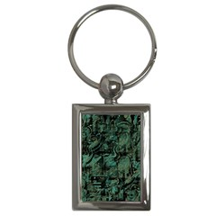 Green town Key Chains (Rectangle)