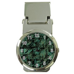 Green town Money Clip Watches