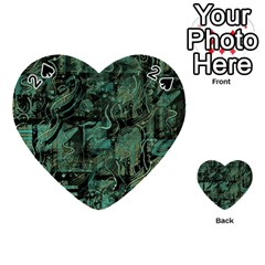 Green town Playing Cards 54 (Heart)