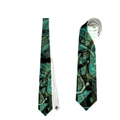 Green town Neckties (Two Side)