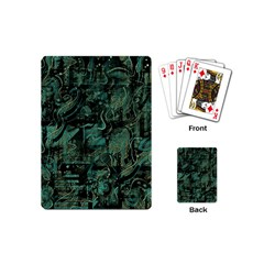 Green town Playing Cards (Mini)