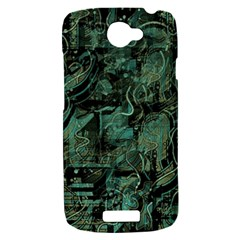 Green town HTC One S Hardshell Case