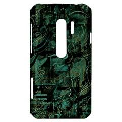 Green town HTC Evo 3D Hardshell Case