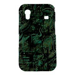 Green town Samsung Galaxy Ace S5830 Hardshell Case