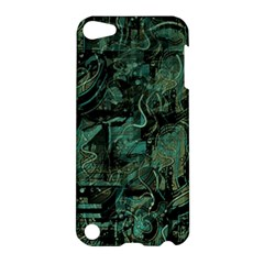 Green town Apple iPod Touch 5 Hardshell Case
