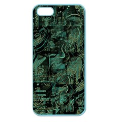 Green town Apple Seamless iPhone 5 Case (Color)