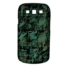 Green town Samsung Galaxy S III Classic Hardshell Case (PC+Silicone)