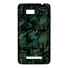 Green town HTC One SU T528W Hardshell Case