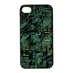 Green town Apple iPhone 4/4S Hardshell Case with Stand