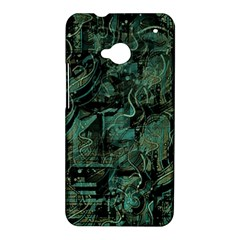 Green town HTC One M7 Hardshell Case