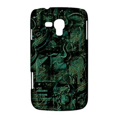 Green town Samsung Galaxy Duos I8262 Hardshell Case