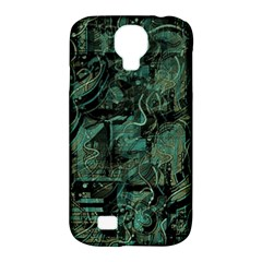 Green town Samsung Galaxy S4 Classic Hardshell Case (PC+Silicone)