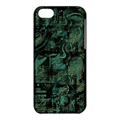 Green town Apple iPhone 5C Hardshell Case