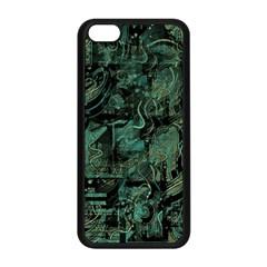 Green town Apple iPhone 5C Seamless Case (Black)