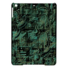 Green town iPad Air Hardshell Cases