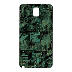 Green town Samsung Galaxy Note 3 N9005 Hardshell Back Case