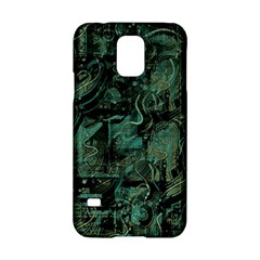 Green town Samsung Galaxy S5 Hardshell Case
