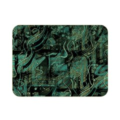Green town Double Sided Flano Blanket (Mini)