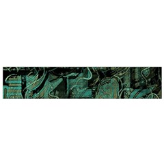 Green town Flano Scarf (Small)