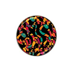 Colorful snakes Hat Clip Ball Marker (4 pack)