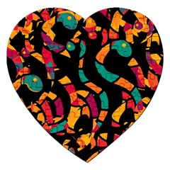 Colorful snakes Jigsaw Puzzle (Heart)