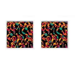 Colorful snakes Cufflinks (Square)