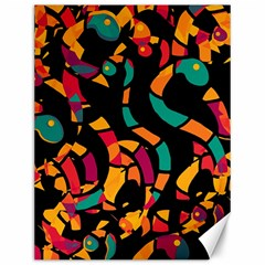 Colorful snakes Canvas 12  x 16