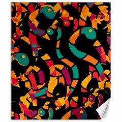 Colorful snakes Canvas 20  x 24