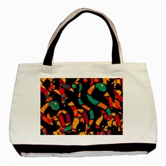 Colorful snakes Basic Tote Bag (Two Sides)