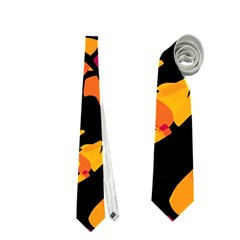 Colorful snakes Neckties (One Side)