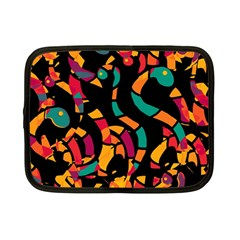 Colorful snakes Netbook Case (Small)