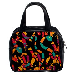 Colorful snakes Classic Handbags (2 Sides)