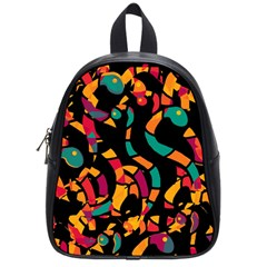 Colorful snakes School Bags (Small)