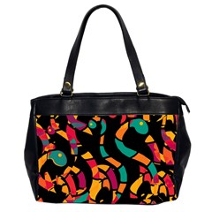 Colorful snakes Office Handbags (2 Sides)
