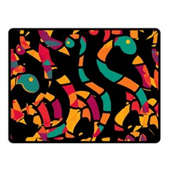 Colorful snakes Fleece Blanket (Small)