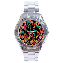Colorful snakes Stainless Steel Analogue Watch