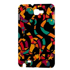 Colorful snakes Samsung Galaxy Note 1 Hardshell Case