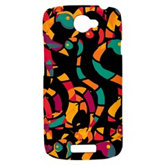 Colorful snakes HTC One S Hardshell Case