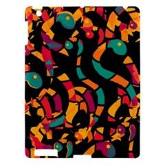 Colorful snakes Apple iPad 3/4 Hardshell Case