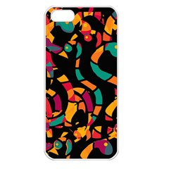 Colorful snakes Apple iPhone 5 Seamless Case (White)