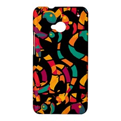 Colorful snakes HTC One M7 Hardshell Case