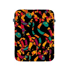 Colorful snakes Apple iPad 2/3/4 Protective Soft Cases