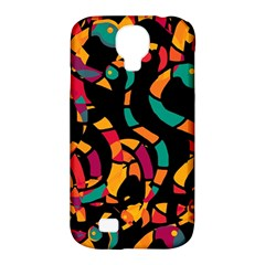 Colorful snakes Samsung Galaxy S4 Classic Hardshell Case (PC+Silicone)
