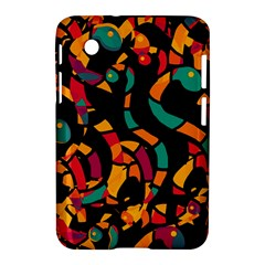 Colorful snakes Samsung Galaxy Tab 2 (7 ) P3100 Hardshell Case