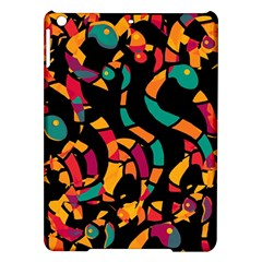 Colorful snakes iPad Air Hardshell Cases