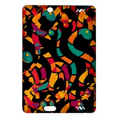 Colorful snakes Amazon Kindle Fire HD (2013) Hardshell Case